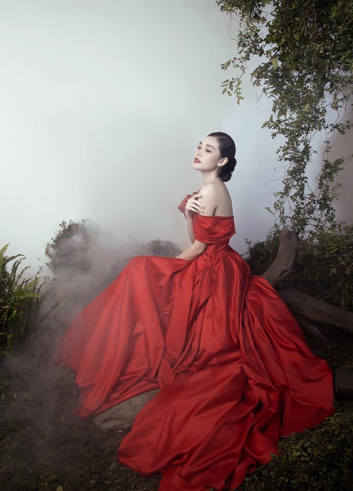 'Chị Nguyệt' phiên bản 2k – Á hậu Tường San đẹp mặn mà trong bộ ảnh mùa Trung thu Ảnh 9
