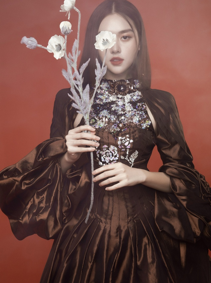 'Chị Nguyệt' phiên bản 2k – Á hậu Tường San đẹp mặn mà trong bộ ảnh mùa Trung thu Ảnh 5