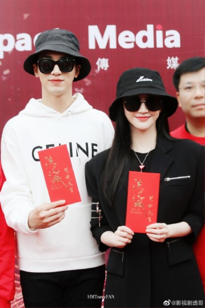 Cảnh Điềm chính thức nên duyên cùng Hứa Ngụy Châu trong phim mới 'Lưu quang chi thành'
