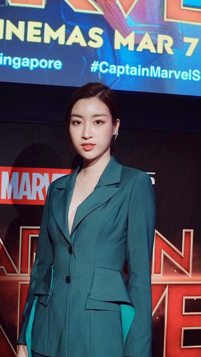 Chẳng cần váy áo điệu đà, Đỗ Mỹ Linh 'chặt đẹp' dàn mỹ nhân với style nữ quyền Ảnh 10