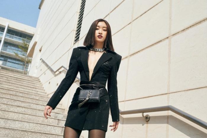 Chẳng cần váy áo điệu đà, Đỗ Mỹ Linh 'chặt đẹp' dàn mỹ nhân với style nữ quyền Ảnh 7