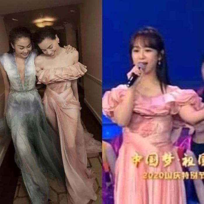 Dương Tử diện đầm của Công Trí, fans bình luận: 'Hà Hồ cũng mặc mà sao một chiếc váy hai số phận?' Ảnh 5