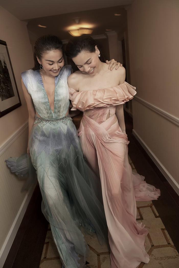 Dương Tử diện đầm của Công Trí, fans bình luận: 'Hà Hồ cũng mặc mà sao một chiếc váy hai số phận?' Ảnh 3