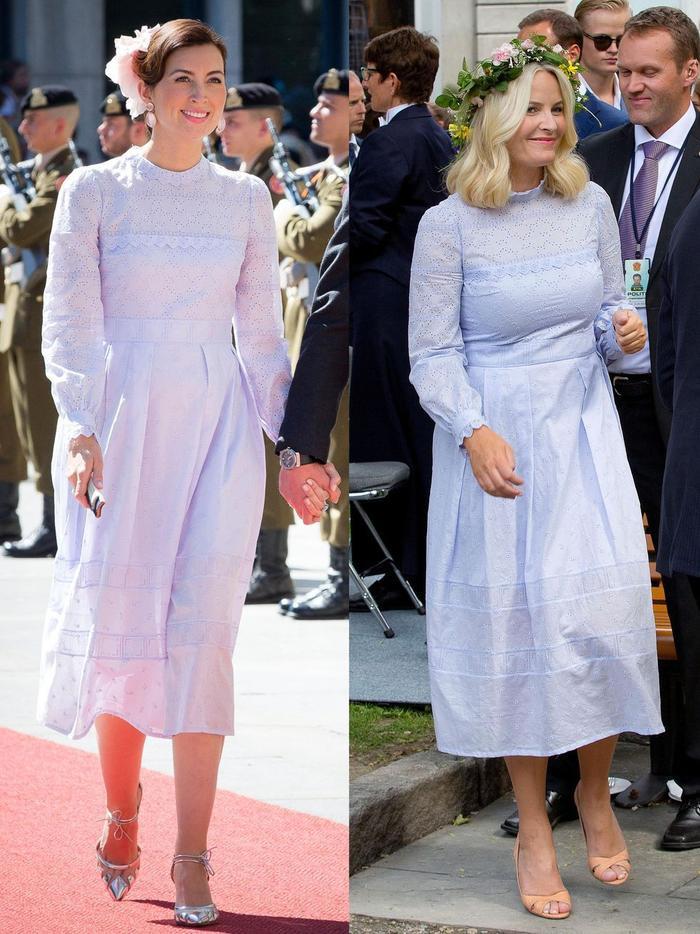 Gu thời trang giống nhau kỳ lạ của các công nương hoàng gia Ảnh 2