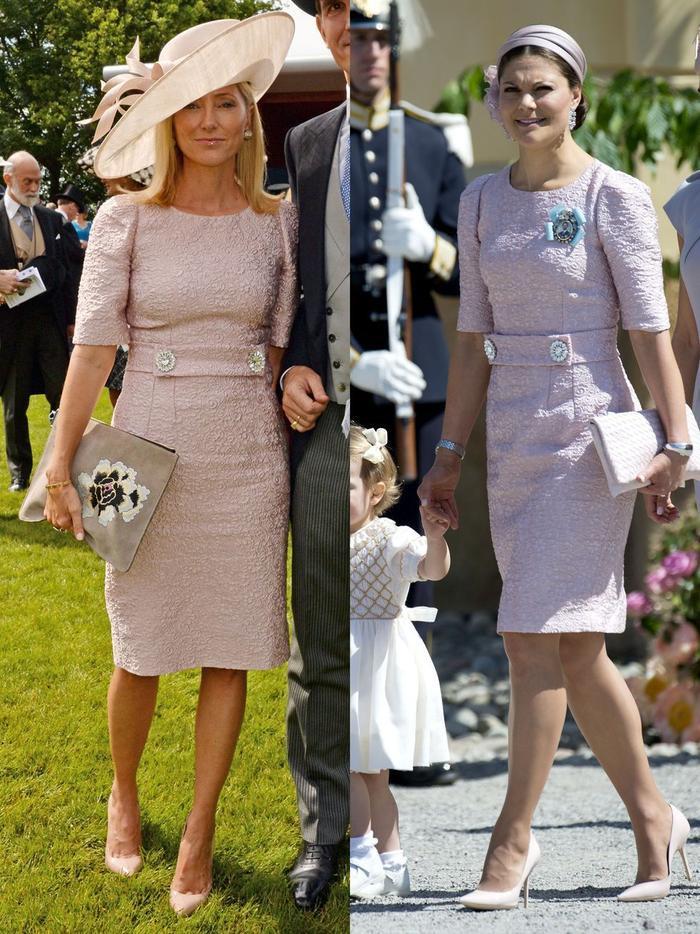 Gu thời trang giống nhau kỳ lạ của các công nương hoàng gia Ảnh 1