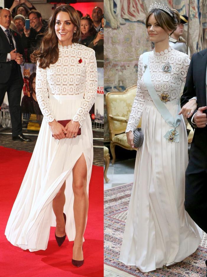 Gu thời trang giống nhau kỳ lạ của các công nương hoàng gia Ảnh 12