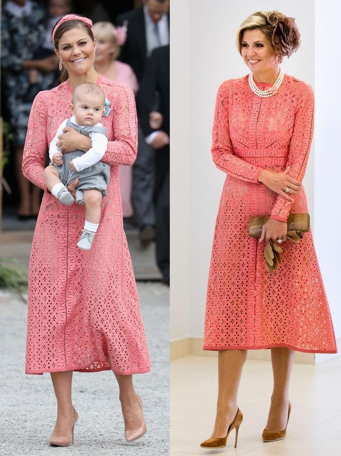 Gu thời trang giống nhau kỳ lạ của các công nương hoàng gia Ảnh 5