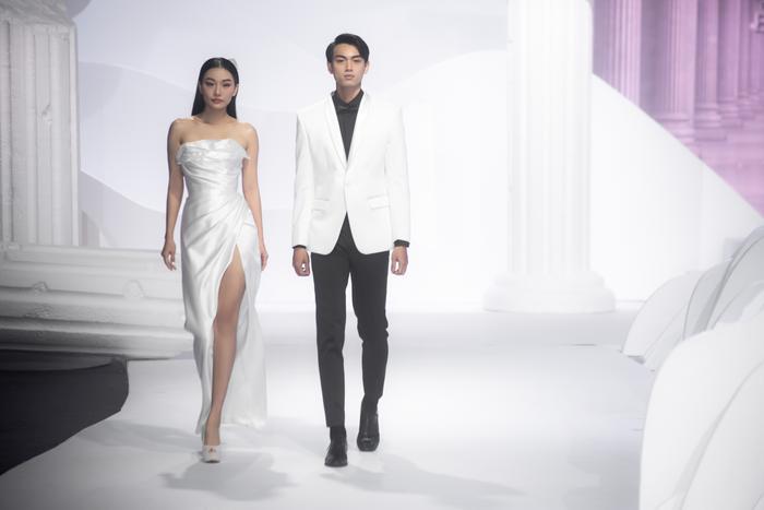 Hoàng Thuỳ, Minh Tú diện váy cưới quá sức lộng lẫy khiến fan tê liệt Ảnh 14
