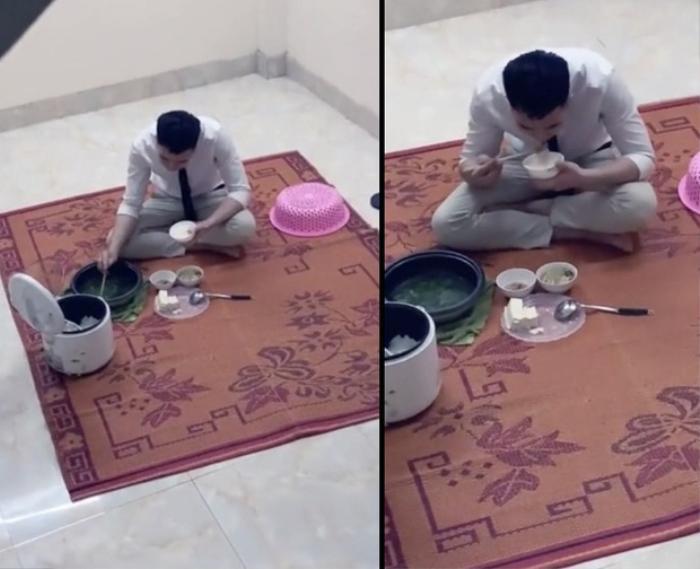 Xúc động câu chuyện anh trai cật lực làm việc nuôi em ăn học suốt nhiều năm qua, thui thủi một mình ăn cơm sau 10 giờ tối Ảnh 1