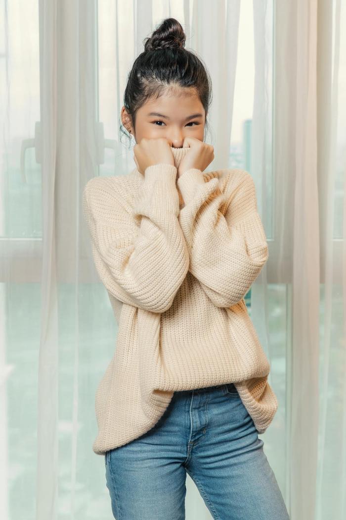 Con gái Trương Ngọc Ánh lại gây sốt với bộ ảnh xinh đẹp chuẩn hoa hậu tương lai Ảnh 4