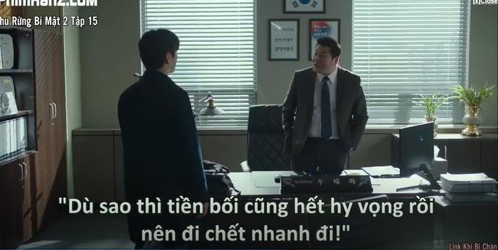 Khu rừng bí mật tập 15: Hé lộ kẻ chủ mưu cái chết bỉ ẩn Park Gwang Su và vụ án mất tích Seo Dong Jae là người cầm quyền tối cao nhất của pháp luật Ảnh 15