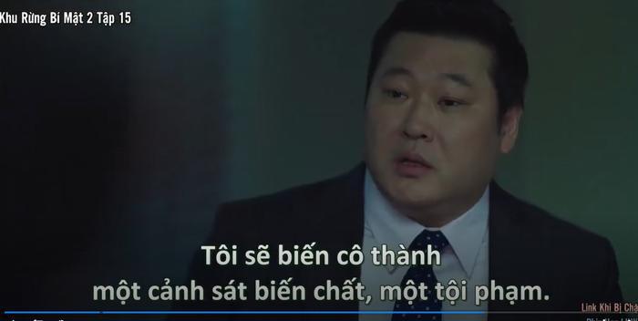 Khu rừng bí mật tập 15: Hé lộ kẻ chủ mưu cái chết bỉ ẩn Park Gwang Su và vụ án mất tích Seo Dong Jae là người cầm quyền tối cao nhất của pháp luật Ảnh 16