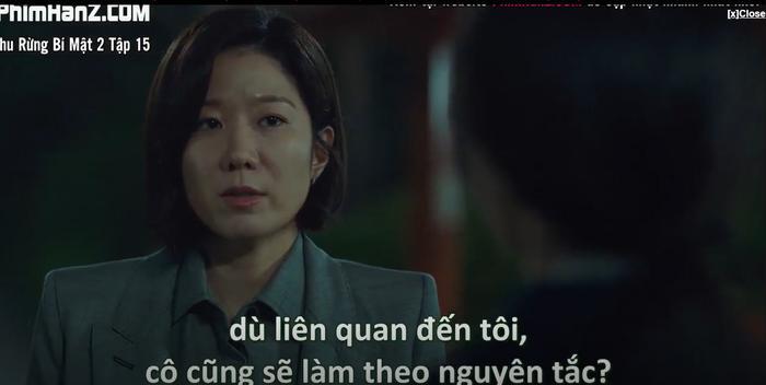 Khu rừng bí mật tập 15: Hé lộ kẻ chủ mưu cái chết bỉ ẩn Park Gwang Su và vụ án mất tích Seo Dong Jae là người cầm quyền tối cao nhất của pháp luật Ảnh 18