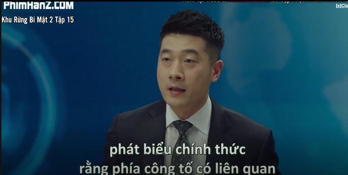 Khu rừng bí mật tập 15: Hé lộ kẻ chủ mưu cái chết bỉ ẩn Park Gwang Su và vụ án mất tích Seo Dong Jae là người cầm quyền tối cao nhất của pháp luật Ảnh 5
