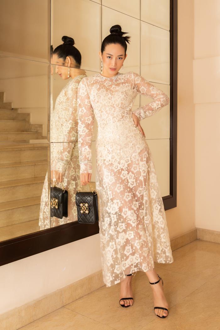 Hoa hậu Tiểu Vy, Lương Thùy Linh 'bùng nổ' nhan sắc, chiếm lĩnh bảng đầu sao đẹp Ảnh 11