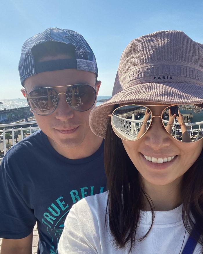 Lâm Tâm Như - Hoắc Kiến Hoa chụp ảnh selfie: Da vẻ khô ráp, gương mặt tiều tụy Ảnh 11