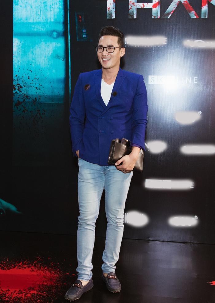 Chỉ hát OST, Han Sara vẫn 'chặt đẹp' thảm đỏ họp báo phim 'Thang máy' Ảnh 4
