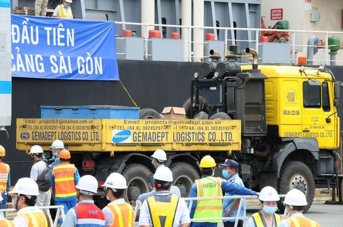 Hình ảnh đầu tiên của đoàn tàu Metro Bến Thành - Suối Tiên vừa có mặt ở Sài Gòn Ảnh 6