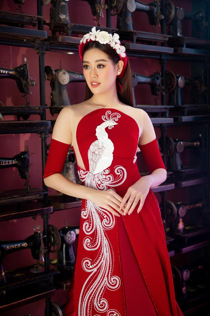 Hoa hậu Hoàn vũ Việt Nam Khánh Vân trở thành Đại sứ hình ảnh Lễ hội Áo dài TPHCM Ảnh 9