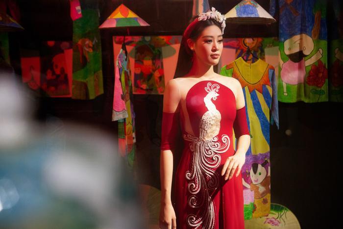 Hoa hậu Hoàn vũ Việt Nam Khánh Vân trở thành Đại sứ hình ảnh Lễ hội Áo dài TPHCM Ảnh 3