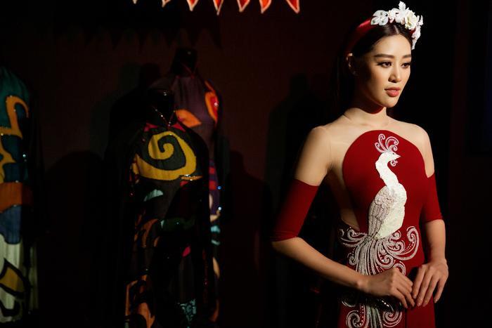 Hoa hậu Hoàn vũ Việt Nam Khánh Vân trở thành Đại sứ hình ảnh Lễ hội Áo dài TPHCM Ảnh 1