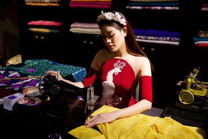 Hoa hậu Hoàn vũ Việt Nam Khánh Vân trở thành Đại sứ hình ảnh Lễ hội Áo dài TPHCM Ảnh 2
