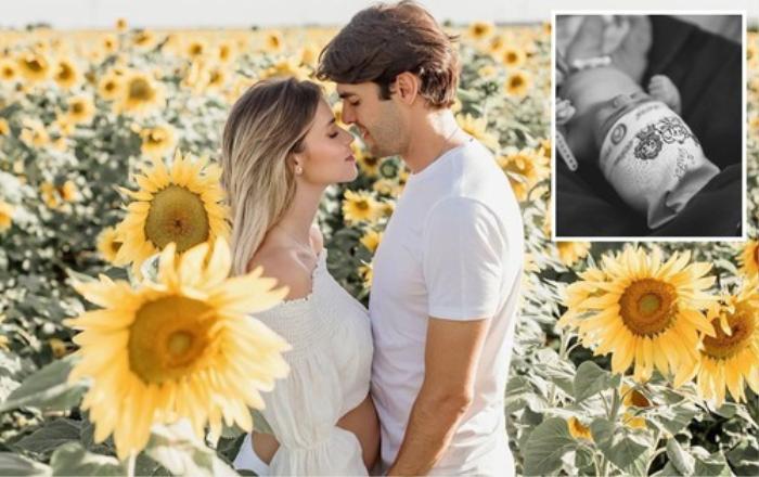 Vợ mới của Kaka hạ sinh con gái đầu lòng Ảnh 2