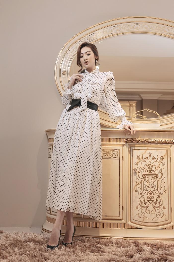 Á hậu Tú Anh gợi ý mặc đẹp với phong cách Retro những năm 50 Ảnh 15