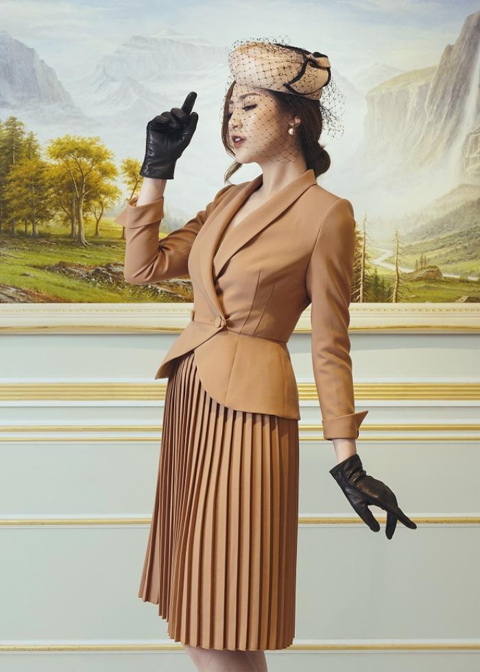 Á hậu Tú Anh gợi ý mặc đẹp với phong cách Retro những năm 50 Ảnh 2