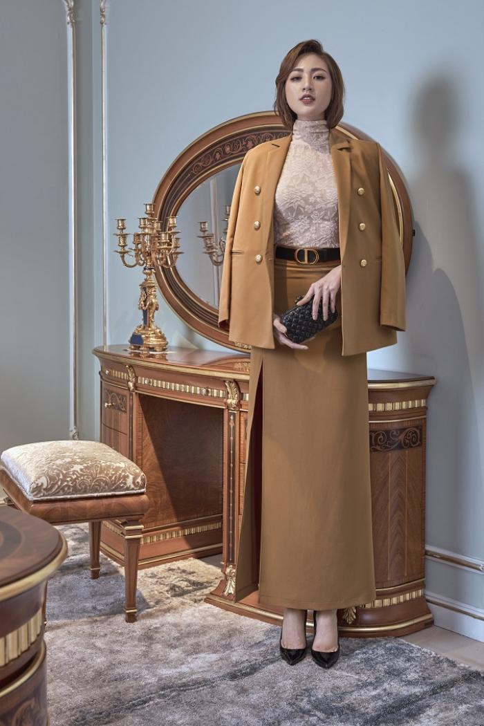 Á hậu Tú Anh gợi ý mặc đẹp với phong cách Retro những năm 50 Ảnh 10