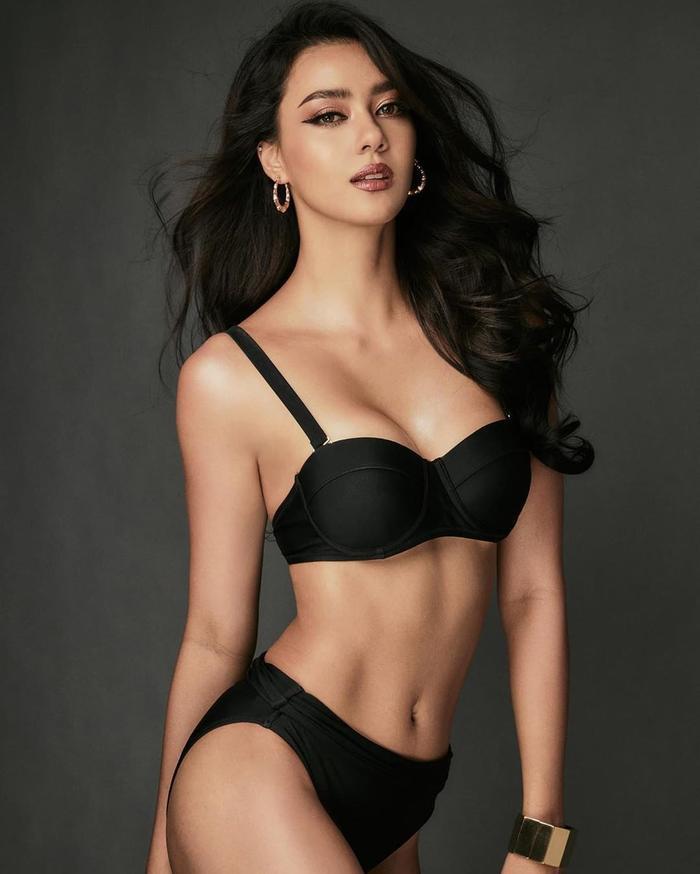 So nhan sắc, trình độ catwalk của Khánh Vân và Tân Hoa hậu Hoàn vũ Thái Lan: Ai hơn ai? Ảnh 27