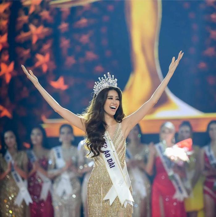 So nhan sắc, trình độ catwalk của Khánh Vân và Tân Hoa hậu Hoàn vũ Thái Lan: Ai hơn ai? Ảnh 3