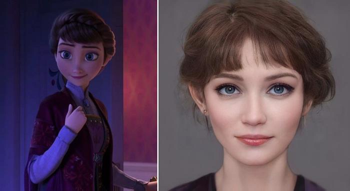 Các nhân vật trong Disney sẽ trông như thế nào khi bước ra đời thực? Ảnh 8