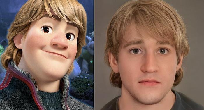 Các nhân vật trong Disney sẽ trông như thế nào khi bước ra đời thực? Ảnh 9