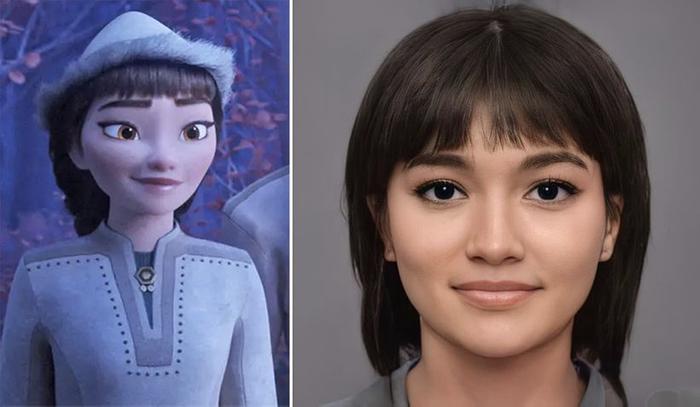 Các nhân vật trong Disney sẽ trông như thế nào khi bước ra đời thực? Ảnh 11