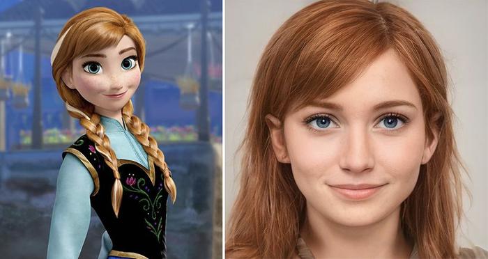 Các nhân vật trong Disney sẽ trông như thế nào khi bước ra đời thực? Ảnh 12