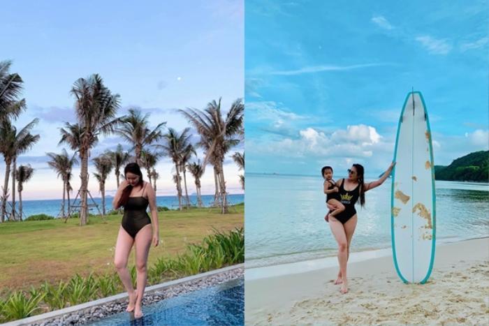Sao Việt bị chế giễu vì tăng cân, Lê Phương khoe cơ đáp trả khiến antifan câm nín Ảnh 2