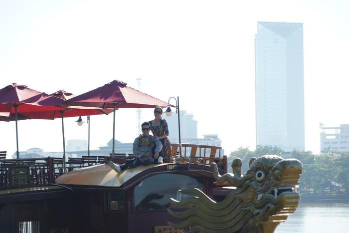 Gia đình Quốc Nghiệp – Ngọc Mai chia sẻ khoảnh khắc tại Huế, kêu gọi cộng đồng hướng về miền Trung Ảnh 12