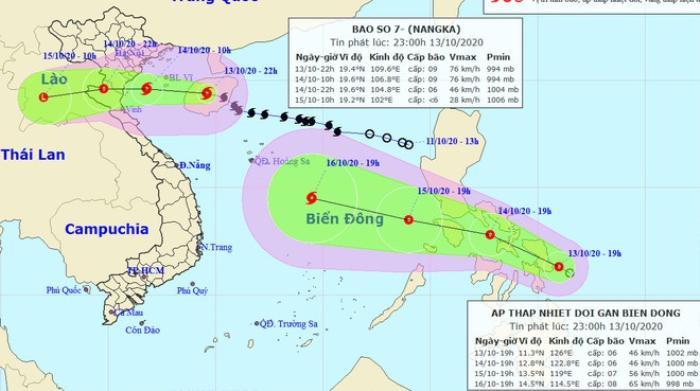 Bão số 7 đổ bộ vào đất liền, dần suy yếu thành áp thấp nhiệt đới Ảnh 1