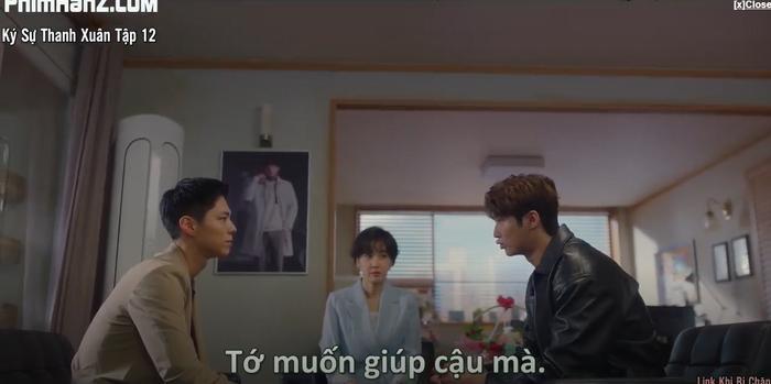 Ký sự thanh xuân tập 12: Park Bo Gum mải chạy trốn Scandal còn Park So Dam thì nghiêng tình về phía Buyn Woo Suk Ảnh 1