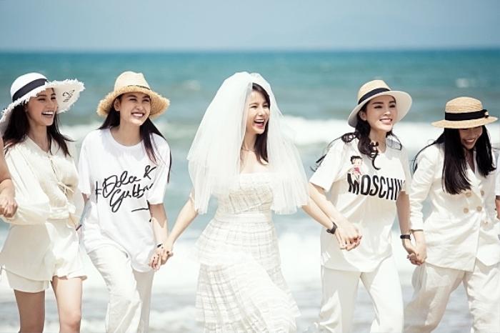 Khi các nàng hậu Việt làm phù dâu, cô dâu xinh đến mấy cũng thấp thỏm vì sợ bị chiếm sóng Ảnh 9
