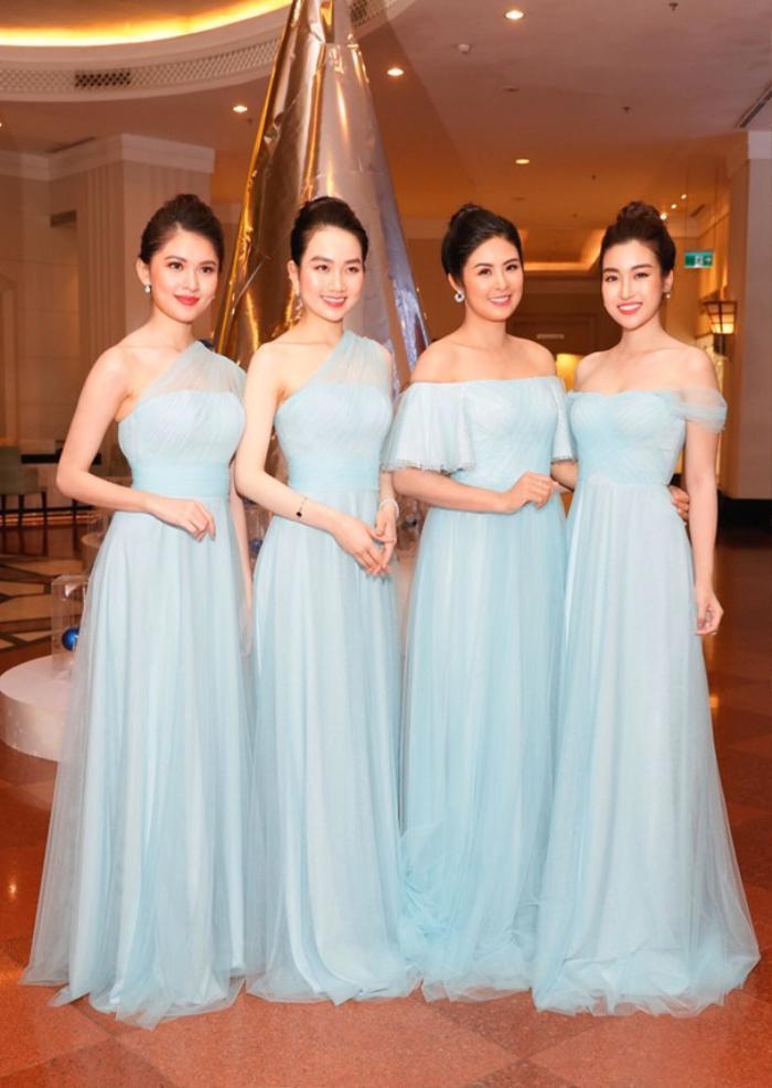 Khi các nàng hậu Việt làm phù dâu, cô dâu xinh đến mấy cũng thấp thỏm vì sợ bị chiếm sóng Ảnh 3