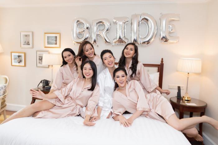 Khi các nàng hậu Việt làm phù dâu, cô dâu xinh đến mấy cũng thấp thỏm vì sợ bị chiếm sóng Ảnh 6