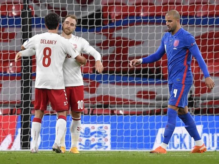 Đội trưởng MU bị đuổi khỏi sân, Anh thua đau Đan Mạch Ảnh 2