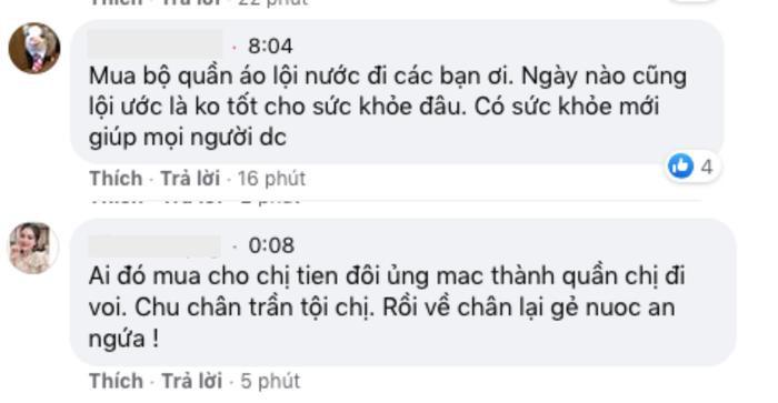 Thủy Tiên xắn quần lội nước đi từ thiện vùng 'rốn lũ' mà fan vẫn ngây ngất vì vòng 3 siêu đẹp Ảnh 6