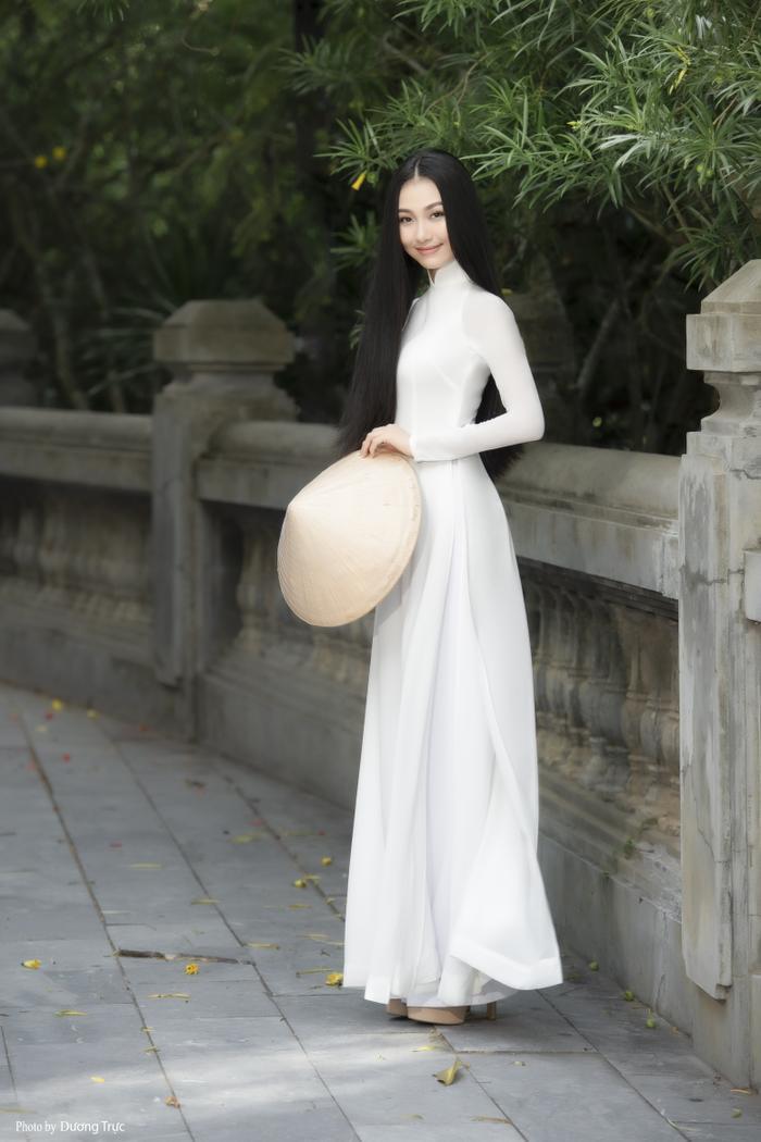 Nhan sắc xinh đẹp của Người đẹp áo dài Bùi Nữ Kiều Vỹ sau 4 năm Hoa hậu Việt Nam Ảnh 4