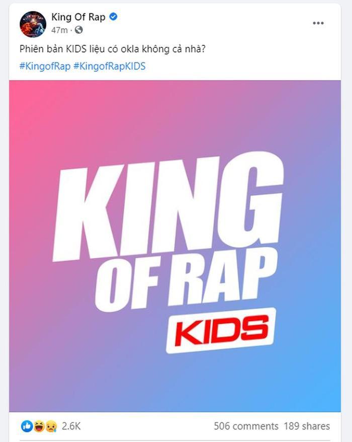 King of Rap KIDS rục rịch khởi động, dân mạng tranh luận: Trẻ con làm sao viết nhạc, liệu có phù hợp? Ảnh 1