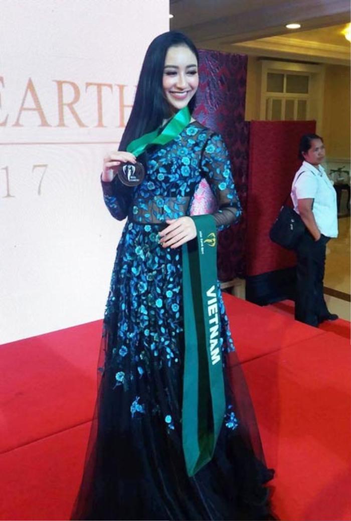 Hoa hậu Việt đồng loạt chọn áo dài để thi Tài năng, duy Nam Em 'đại thắng' với ý tưởng thú vị Ảnh 8