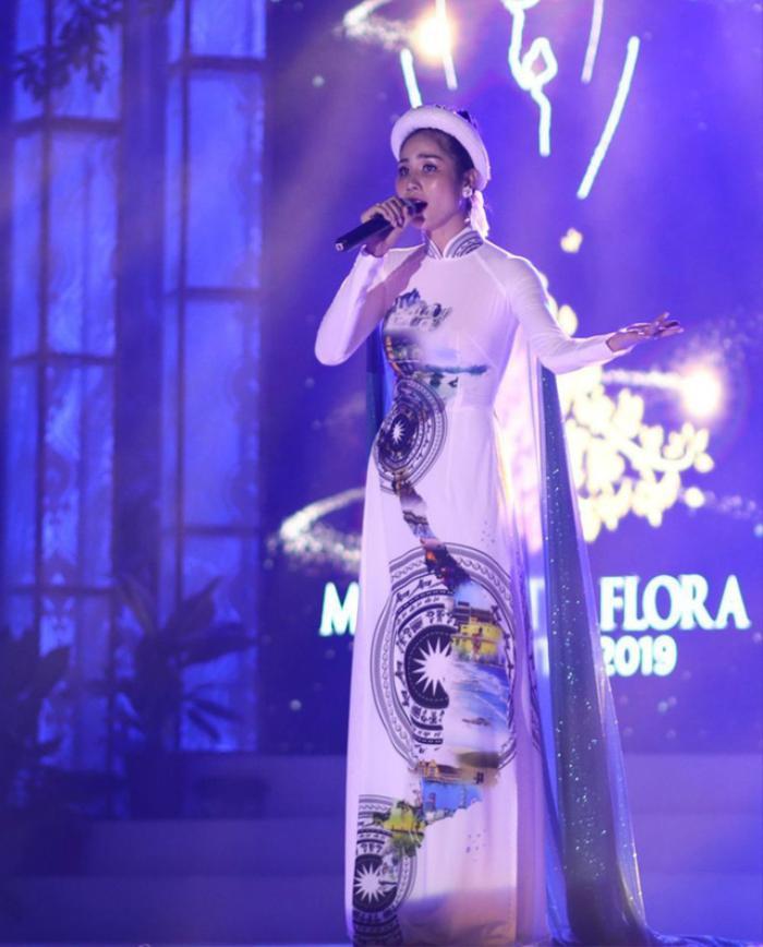 Hoa hậu Việt đồng loạt chọn áo dài để thi Tài năng, duy Nam Em 'đại thắng' với ý tưởng thú vị Ảnh 10