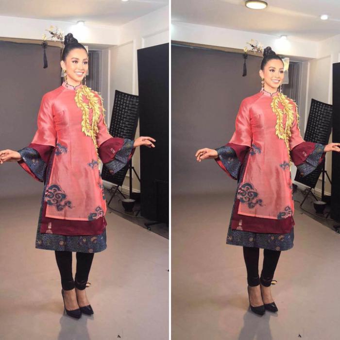 Hoa hậu Việt đồng loạt chọn áo dài để thi Tài năng, duy Nam Em 'đại thắng' với ý tưởng thú vị Ảnh 5